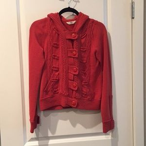 Orange Sweater from Anthropologie Size S